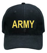 Black Army Logo Cap