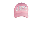 Deluxe Pink Army Logo Caps