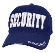 Deluxe Navy Blue Low Profile Security Cap