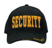 Deluxe Black Low Profile Security Cap - Gold