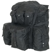 Large Black Alice Field Pack w/Frame
