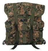 Small Woodland Digital Camo Alice Pack