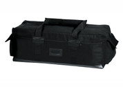 Tactical Israeli Duffle Gear Bag - Black