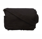 Tactical Black Messenger Bag