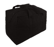 Tactical Black Cargo Parachute Bags