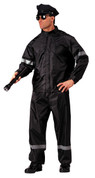 Hi-Visibility Reflective Police 2-Pc Rainsuit