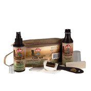 Kiwi Desert Boot Care Kit - Complete View