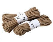 Desert Tan Boot Laces - 72'' - 3 per pack