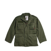 Olive Drab Vintage M-65 Field Jacket - View