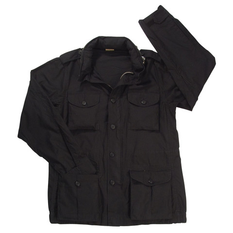 Vintage Black Expedition Field Jacket - View