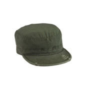 Vintage Olive Drab Fatigue Cap - View