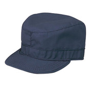 Navy Blue Military Fatigue Cap