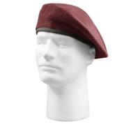 Inspection Ready Maroon Beret - View
