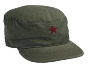 Women's Vintage Star Republic Fatigue Cap - Olive
