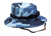Women's Sky Blue Camo Jungle Hat
