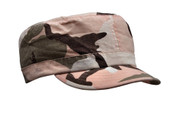 Women's Pink Camo Vintage Fatigue Cap