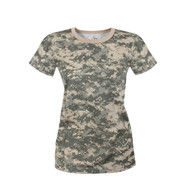 Rothco Womens Longer ACU Digital Camo T Shirt - View