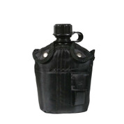 Black Canteen Kit W/Cover Aluminum Cup - View