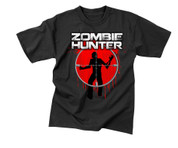 Zombie Hunter T Shirt - Vintage Wash