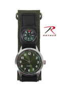 Rothco Travelers Watch/Compass Combo - Olive Drab