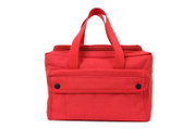 Red Mechanics Tool Bag w/ U Shaped Zipper