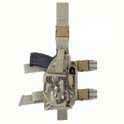 MultiCam Deluxe Adjustable Drop Leg Tactical Holster