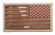MultiCam American Flag Patch - Reverse