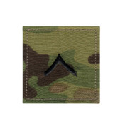 MultiCam Embroidered Rank Insignia - Private