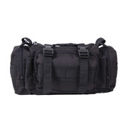 Rothco Black Tactical Convertipack - Front View