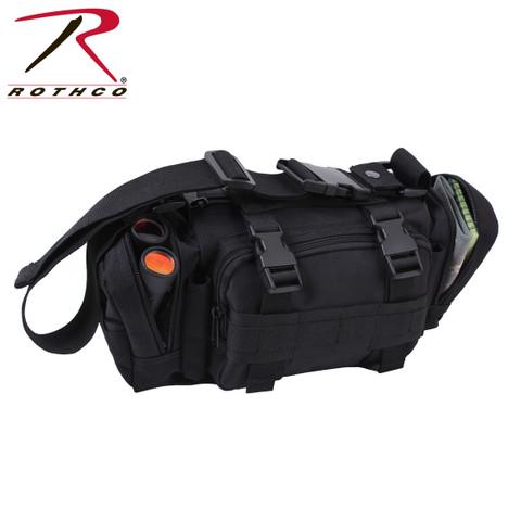 Rothco Black Tactical Convertipack - View