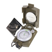 Deluxe Marching Compass - Open View