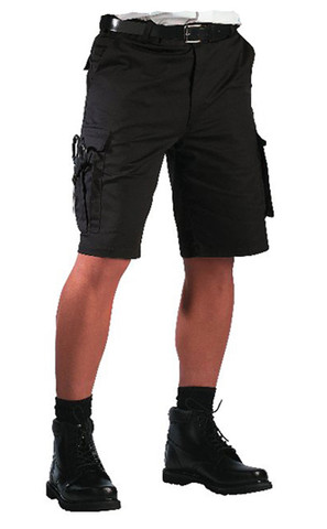 Rothco Black EMT Shorts - View
