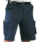 Rothco Navy Blue EMT Shorts - Front View