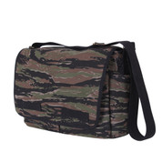 Vintage Tiger Stripe Camo Messenger Bag - Angle View