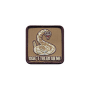 Don't Tread On Me Morale Patch - Hook Backing