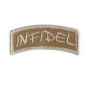 Infidel Shoulder Morale Patch - Hook Backing