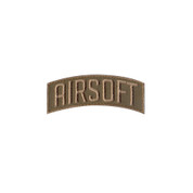 Airsoft Shoulder Morale Patch - Hook Backing