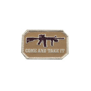 Come & Take It Morale Patch - Hook Backing