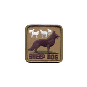 Sheep Dog Morale Patch - Hook Backing