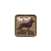 Sheep Dog Morale Patch - Hook Backing