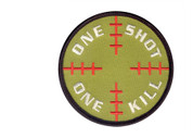 One Shot One Kill Morale Patch - Hook Back