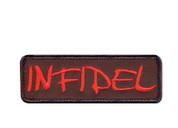 Infidel Morale Patch - Red