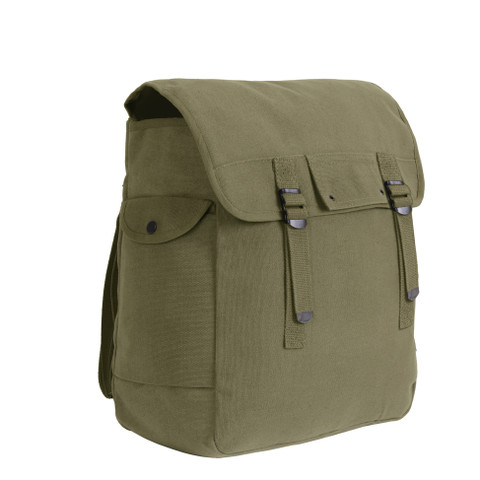 Canvas Musette Bags - Front View