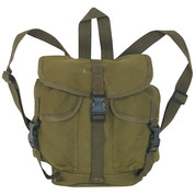 Mini German Style Alpine Rucksack - Olive Drab