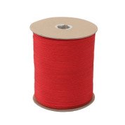 Red Nylon Paracord 550lb 1000 Ft Spool