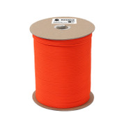 Orange Nylon Paracord 550lb 1000 Ft Spool