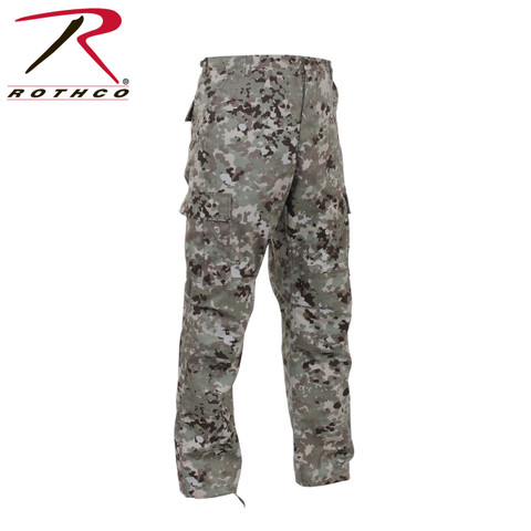 Total Terrain Camo BDU Fatigue Pants - View