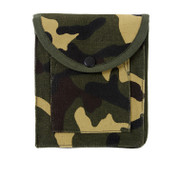Camo Canvas Utility Pouches