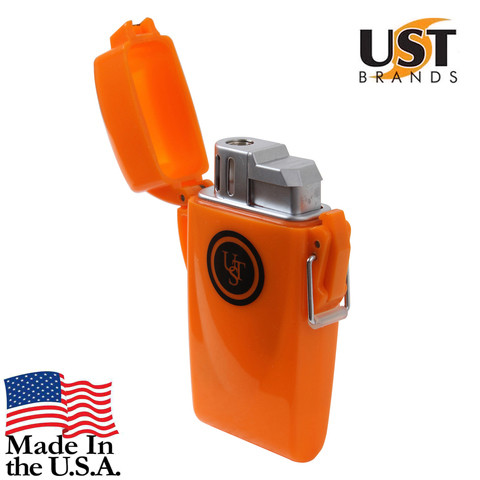 UST Floating Survival Lighter - USA View