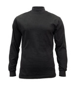 Rothco Black Mock Turtleneck Shirts - View
